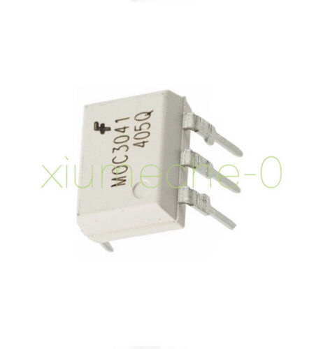 20PCS OPTOCOUPLER FAIRCHILD//MOTOROLA//QTC DIP 6 MOC3041 MOC3041M MOC3041VM