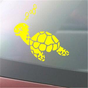 Cute-Turbo-Turtle-Printed-Car-Decal-Sticker-Laptop-Luggage-Decor-SA