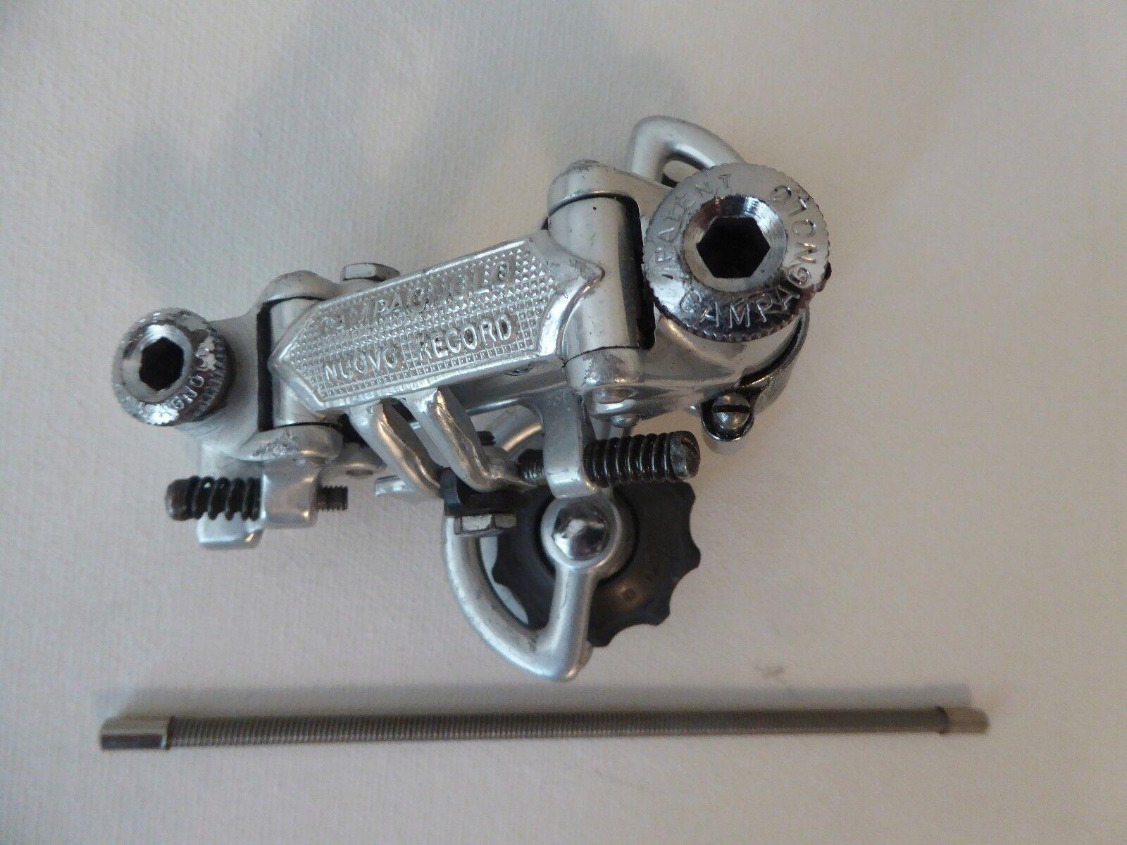 Vintage Campagnolo Nuovo Rekord hinten Derailleur Patent 76 plus NOS Außenkabel