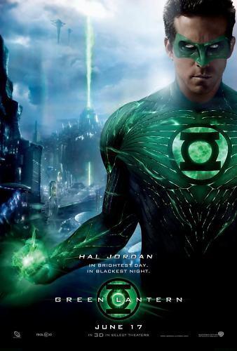 Green Lantern - A3 Film Poster - FREE UK P&P