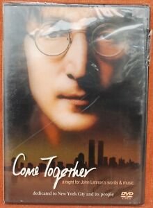 COME-TOGETHER-A-NIGHT-FOR-JOHN-LENNON-039-S-WORDS-MUSIC-NEW-amp-SEALED-DVD