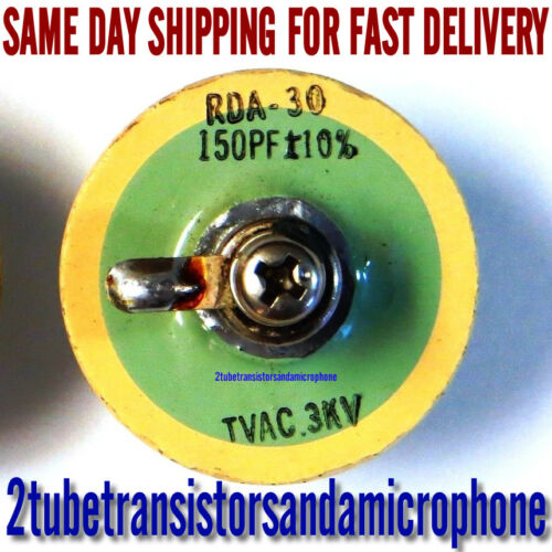 1pc RDA-30 DOORKNOB 150PF 3KV CAPACITOR YAESU FT 101 E B EE EX DOOR KNOB CAP