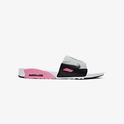 MENS Nike Air Max 90 Slide Bq4635-100 White/Smoke Grey/Rose Sandals Slides n1   eBay