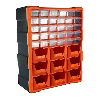 39 Tiroirs Boîte De Rangement Outil Organisateur À faire soi-même Case Double Stockage Atelier
