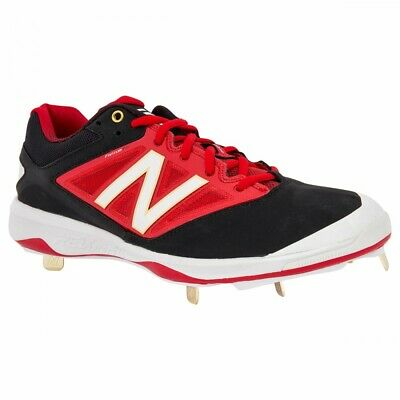 Brand New Mens Black /& Red New Balance L4040BR3 Baseball Cleats 11.5 D