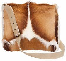 Springbok handbag Mini Postman Springbok Skin Handbag - real genuine leather bag