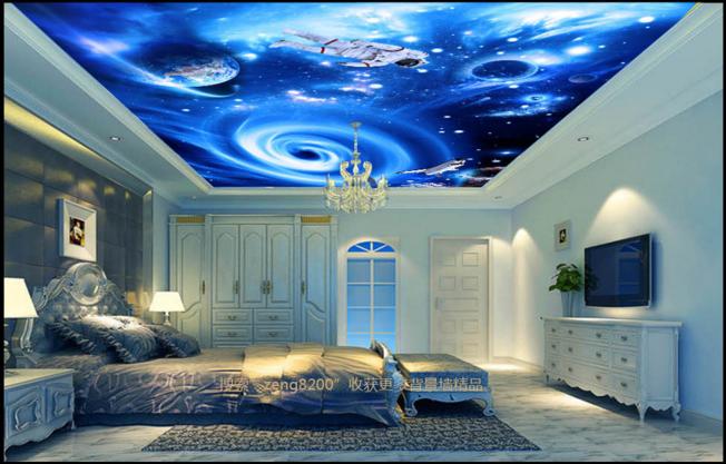 3D Astronaut Space 77 Wall Paper Wall Print Decal Wall Deco AJ WALLPAPER Summer