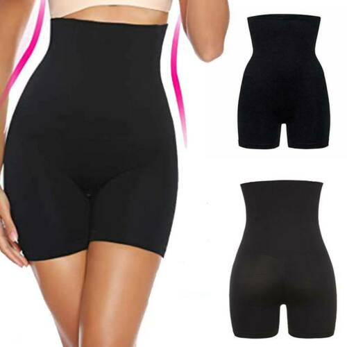 Women High Waist Trainer Tummy Knickers Control Panty Seamless Shaper Shapewear