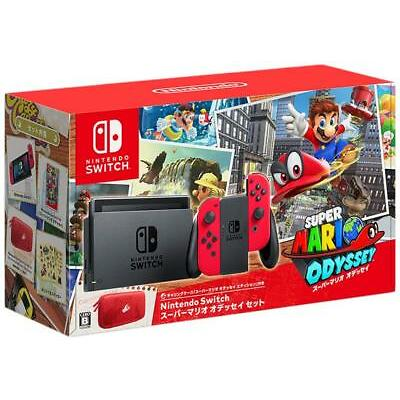Nintendo Switch Super Mario Odyssey Edition Console Set Japan version import