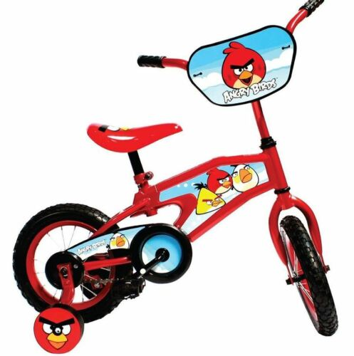 Angry Birds Kid/'s Bike 12 in.Boys Girls Red Steel Fork Pneumatic Tires Deal New