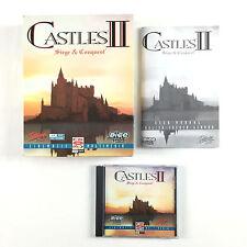 Jeu Castles II 2 Siege et and Conquest Sur PC Big Box  / Boite Carton