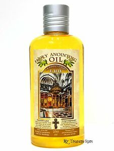 Details about Holy Anointing Oil Frankincense Myrrh Certificated & Blessed  in Jerusalem 250 Ml