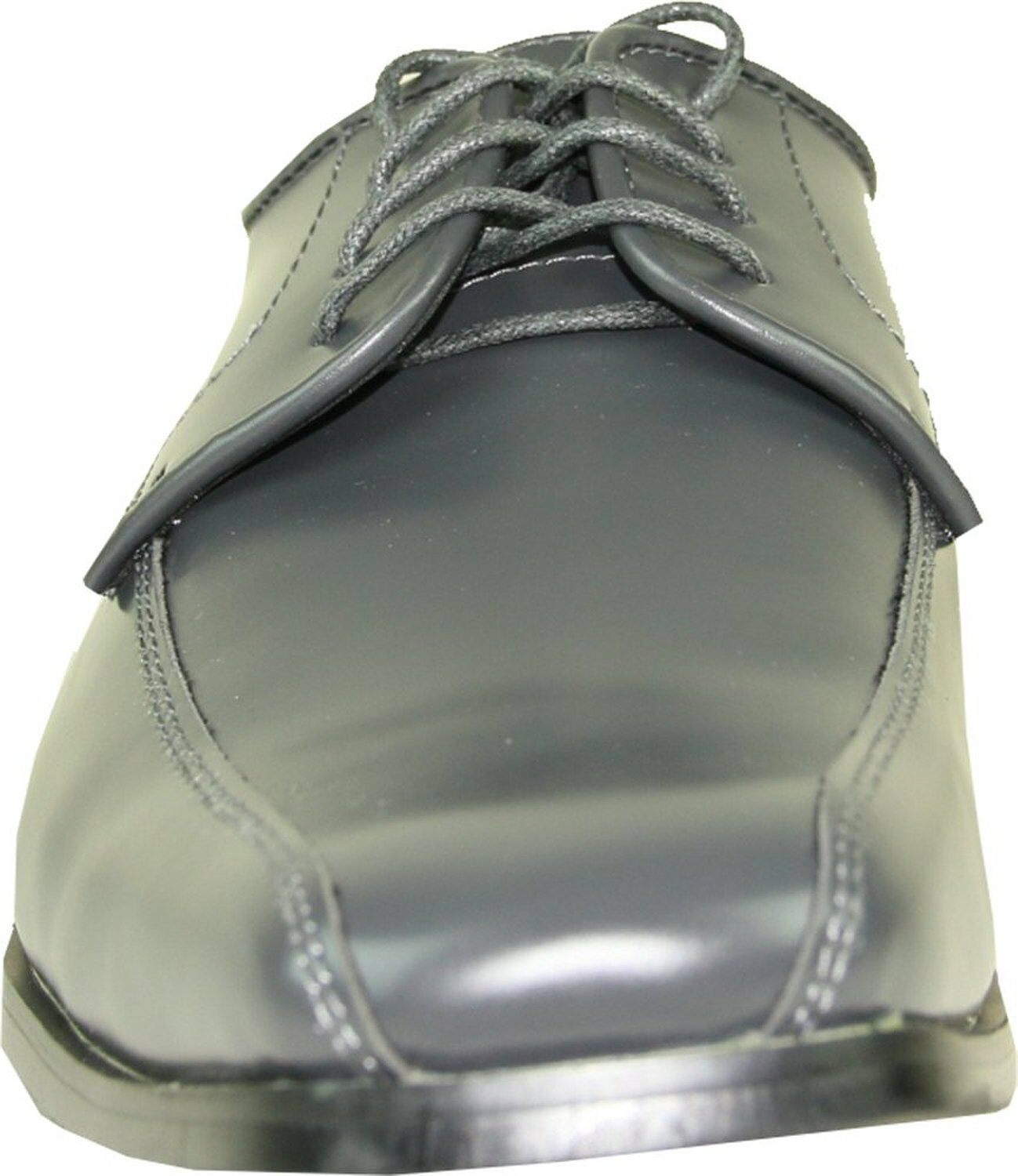 VANGELO/TUX-5 Wrinkle Free Uomo Dress Scarpe Bicycle Bicycle Bicycle Toe Iron Grey Sz 6.5M 80664f