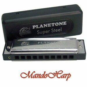 Tribal-Planet-Planetone-Harmonica-Super-Steel-C-NEW