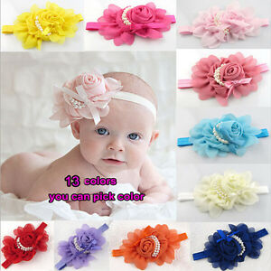 Cute-Baby-Girls-Toddler-Infant-Elastic-Big-Flower-Pearl-Lovely-Headband-Hairband