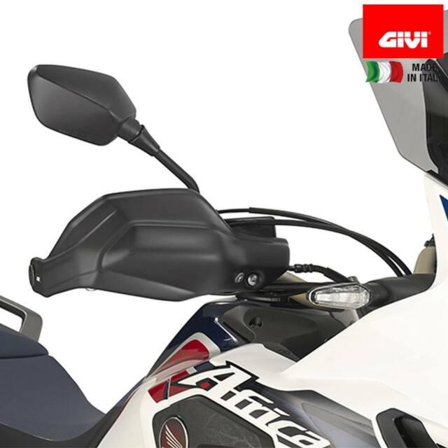 16 Bj GIVI HP1144 Handprotektor schwarz ABS für Honda CRF1000L Africa Twin