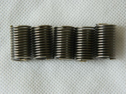 """M4C 5 x Aircraft Threaded Inserts 3//8/"""" BSF x 074/"""" AS4736//29 Helicoil P//No"""
