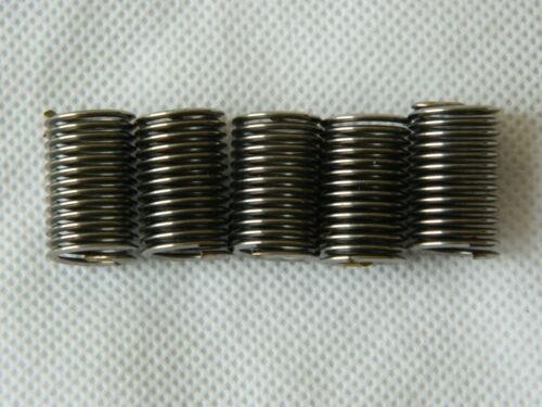 5 x Aircraft Threaded Inserts, 3/8 BSF x 074, Helicoil, P/No. AS4736/29 [M4C]