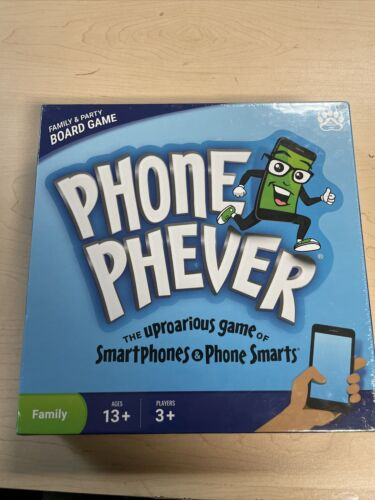 Phone Phever Family /& Party Trivia Challenge Board Game NEW Ships Same Day