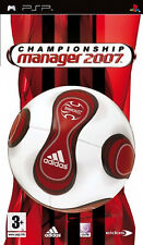 Championship Manager 2007 ( SONY PSP ) NEW SEALED 07