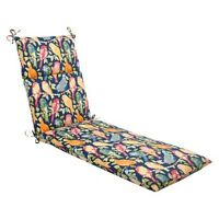 Outdoor Chaise Lounge Cushion - Birds