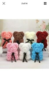 Rose-Bear-Flowers-Valentine-Day-Gifts-Birthday-Party-Wedding-Decor-Bouquet-25cm