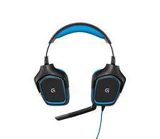 Logitech G430 Gaming Kopfhörer Dolby 7.1-Surround-Sound für PC und PS4
