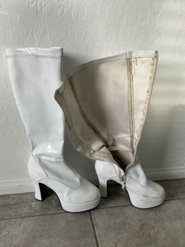 Filthy Worn Showgirl Boots