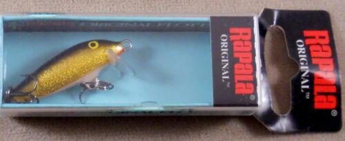 Rapala Original Floating Minnow F-3 G Balsa Wood Crankbait Trout Fishing Lure