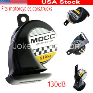 Motorcycle Black Horn For Harley Davidson Fatboy Heritage Softail Classic Dyna Ebay
