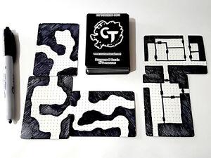 DIY Dungeon Deck Plain RPG Map layout gaming mat dnd D&D roleplaying pathfinder