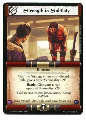 Strength in Subtlety NM/M L5R TCS (or Siege reprint)
