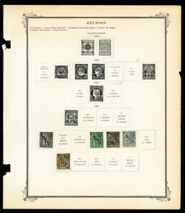 France-Reunion-Mint-amp-Used-Collection-Of-92-Stamps