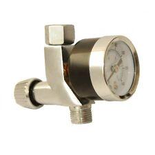 "Mini Air Gun Regulator Gauge for HVLP Spray Gun & Airbrush Compressor 1/4"" BSP"