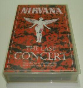 NIRVANA-THE-LAST-CONCERT-RECORDED-LIVE-PALATRUSSARDI-MILAN-24-02-94-FREE-POST
