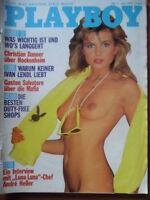 PLAYBOY 7 - 1987 Tanja Fiedler Andre Heller Ivan Lendl Frauen des Casanova