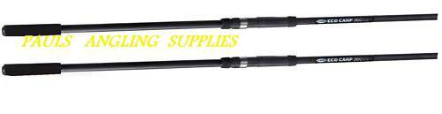 2  x  Fladen Eco Carp Fishing Rods 2.75 Test Curve