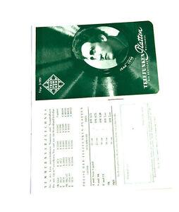 Telefunken Platten Katalog Folge 3/ 1951 Top Zustand! k121 Angenehm Bis Zum Gaumen