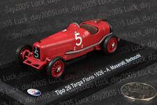Maserati Tipo 26 Targa Florio 1926 #5 A.Maserati, Bertocchi 1/43 Diecast Model