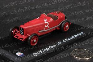 Maserati-Tipo-26-Targa-Florio-1926-5-A-Maserati-Bertocchi-1-43-Diecast-Modelo