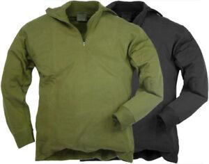 Acheter Pas Cher Nouveau Norgi Haut. Vert Ou Noir, Xs à Xxl. Norwegian Army Shirt. D'hiver Mi Couche-afficher Le Titre D'origine