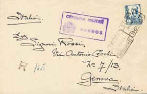 España. State Spanish Mail Certificado. State (Spanish Mail Certificado.