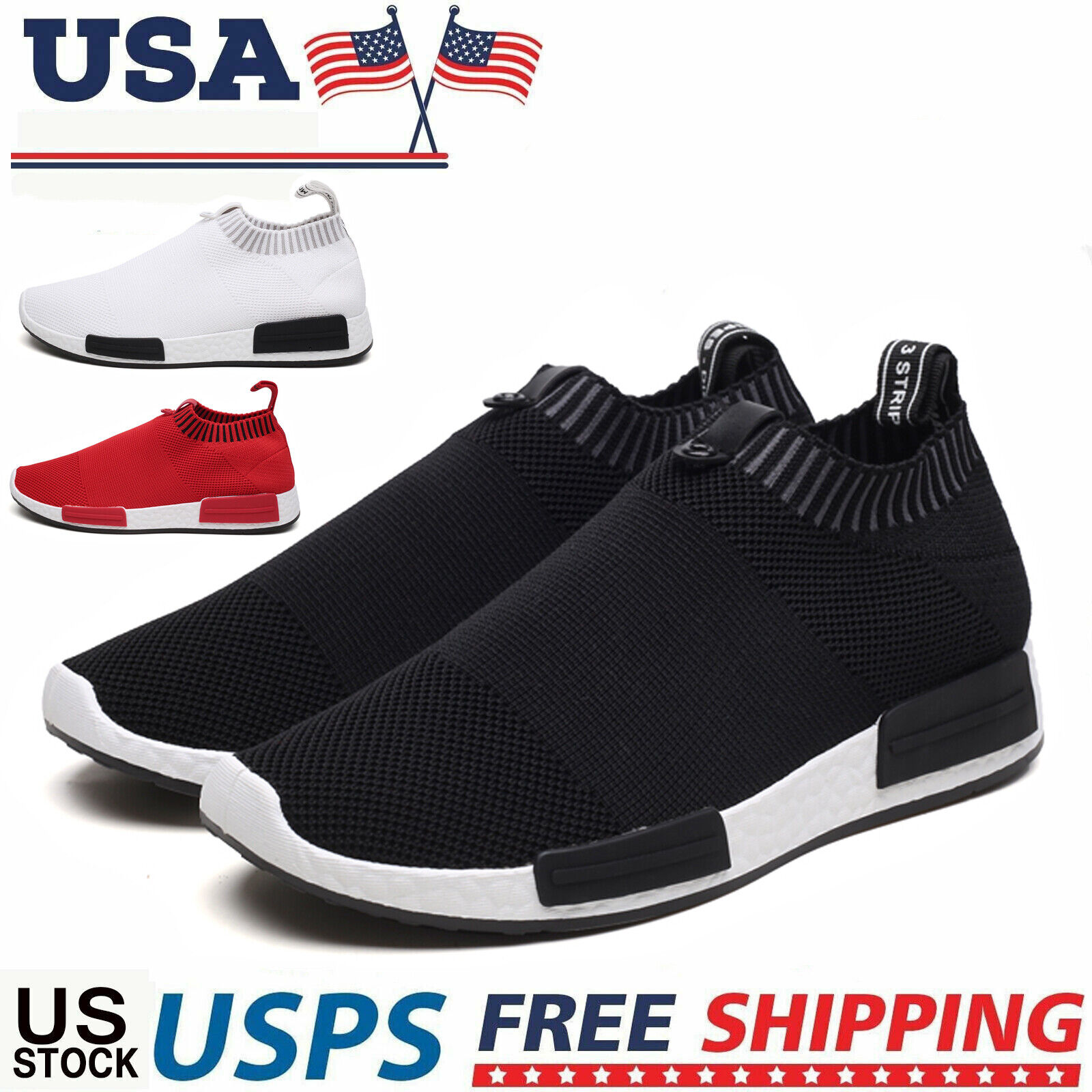 Honnesserry Mens Sneakers Non Slip Tennis Work Shoes Graffiti Fashion Slip Resistant Athletic Sports Running Casual Walking Gym Workout Shoes