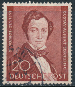 Allemagne-Mail-Annee-1951-Numero-00060-Musicien-US