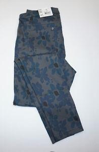 Legging  HUE Womens Mod Floral Original Denim Color Thunder Size X//L    U16939H