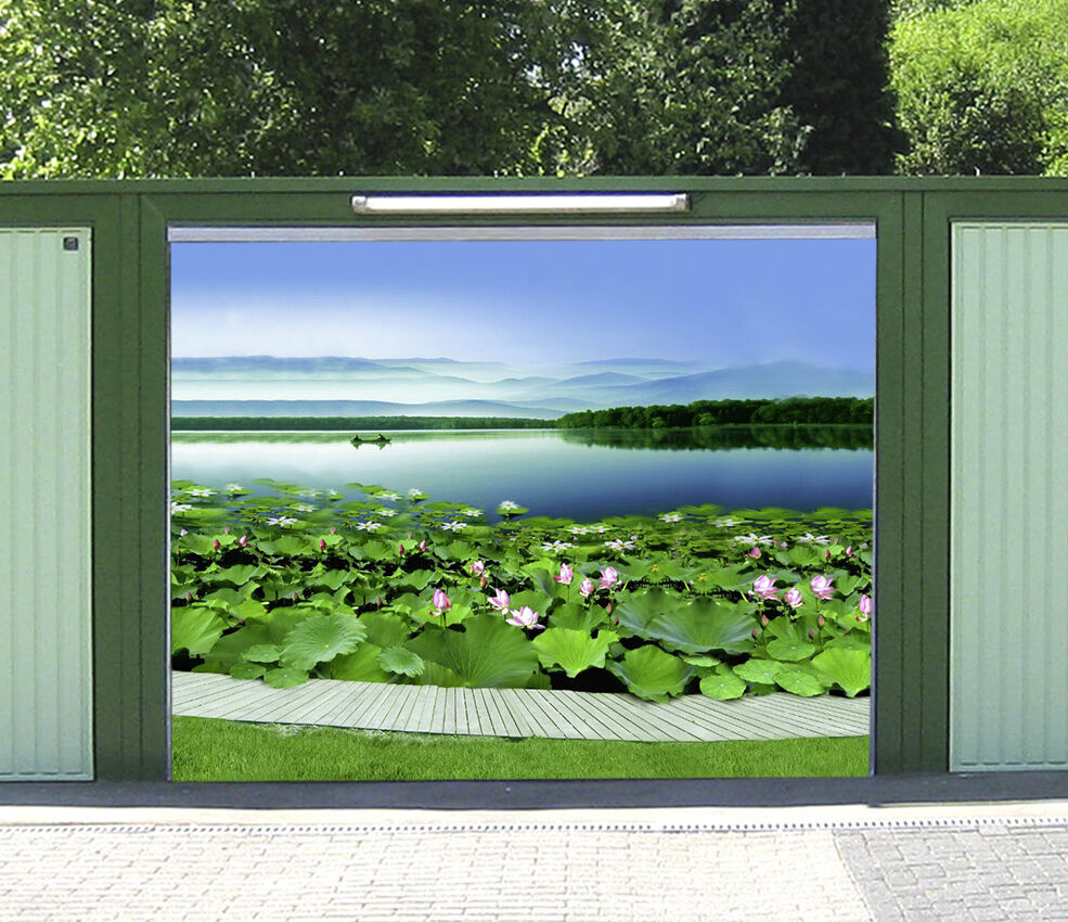 3D Sky Pond 908 Garage Door Murals Wall Print Decal Wall AJ WALLPAPER AU Carly