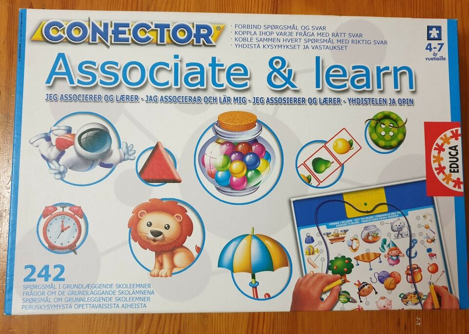 Associate og learn, Børnespil, andet spil