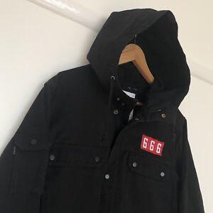 SUPREME 666 Black Field Parka Jacket  Size Medium | EBay