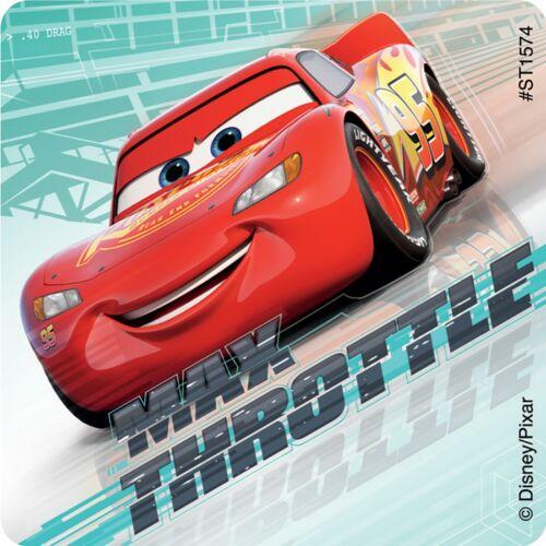 Cars Birthday Party Disney Cars Stickers x 5 Lightning McQueen Disney Cars