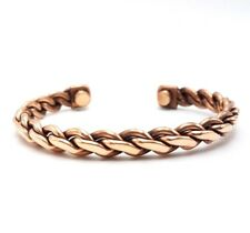 Pure Copper Magnetic Bracelet Arthritis Pain Energy Therapy Cuff New CP-CF565